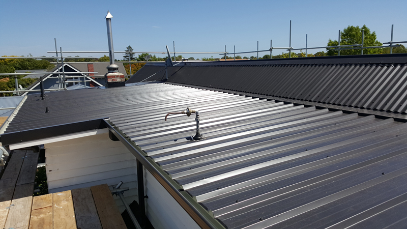 Roof right roofing christchurch new roofing roof repairs for Roof right