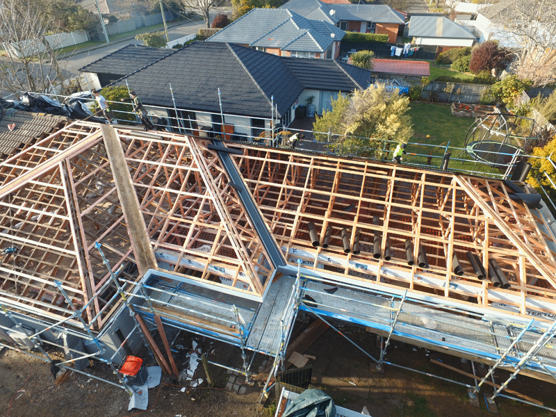 Roof right roofing christchurch re roofing roof repairs for Roof right